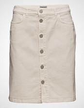 Filippa K Ecru Denim Skirt