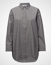 Gestuz Wray Check Shirt Ze1 18 Langermet Skjorte Grå GESTUZ