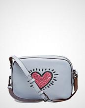 Coach Keith Haring Sequins Heart Camera Bag