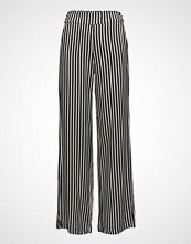 Mango Striped Palazzo Trousers