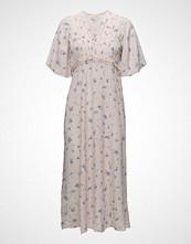 by Ti Mo Rolou Embroidered Midi Dress