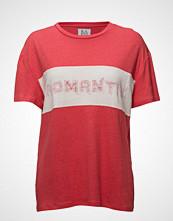 Zoe Karssen Linen-Blend Boyfriend T-Shirt Romantix