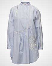 3.1 Phillip Lim Poplin Victoriana Dress W Crest Embr