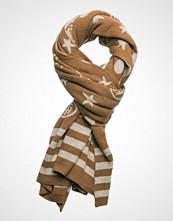 Tommy Hilfiger Th Monogram & Stripes Knit Scarf