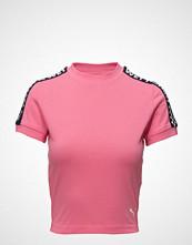 Fenty PUMA by Rihanna Ss Cropped Tee T-shirts & Tops Short-sleeved Rosa FENTY PUMA BY RIHANNA