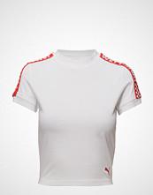 Fenty PUMA by Rihanna Ss Cropped Tee T-shirts & Tops Short-sleeved Hvit FENTY PUMA BY RIHANNA