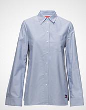 Hilfiger Collection Bandana Shirt Ls Langermet Skjorte Blå HILFIGER COLLECTION