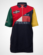 Hilfiger Collection Colour Block Polo Dr Kort Kjole Multi/mønstret HILFIGER COLLECTION