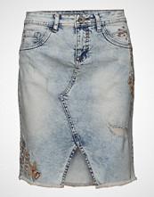 Cream Siv Flower Skirt