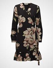 Selected Femme Sfcatja Ls Wrap Dress Ex