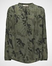 Rabens Saloner Camouflage L/S Blouse