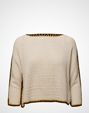 Mango Contrast Trim Sweater