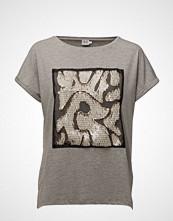 Saint Tropez T-Shirt W. Sequins