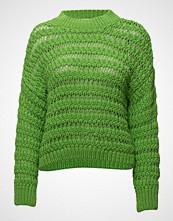 Mango Openwork Knit Sweater