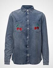 Zoe Karssen Classic Denim Shirt Lover Langermet Skjorte Blå ZOE KARSSEN
