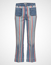 Wrangler Cropped Flare  Disco Stripes
