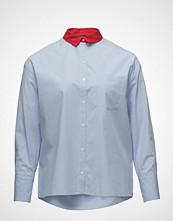 Violeta by Mango Contrast Collar Shirt