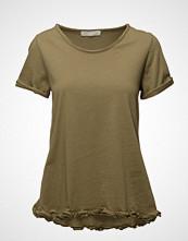 Please Jeans Plvt908h1085 T-shirts & Tops Short-sleeved Grønn PLEASE JEANS