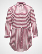 Violeta by Mango Oversize Striped Shirt