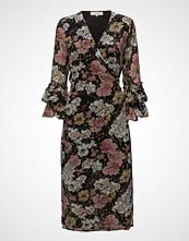 Selected Femme Sfcynthia Ls Wrap Dress Ex