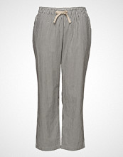 Violeta by Mango Striped Baggy Trousers