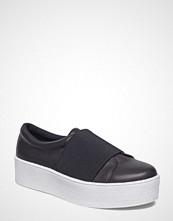 Bianco Leather Flatform Loafer Jfm18