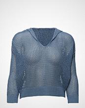 Mango Hood Net Sweater