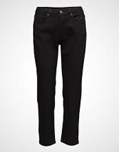 2nd One Malou 002 Crop, Satin Black, Jeans