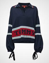 Hilfiger Collection Tommy Stripe Sweater Strikket Genser Blå HILFIGER COLLECTION