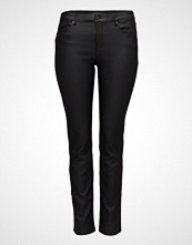 Violeta by Mango Coated Slim-Fit Carmen Jeans