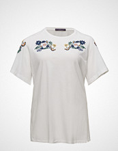 Violeta by Mango Embroidered Cotton T-Shirt