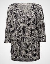 Masai Dorinda Top T-shirts & Tops Long-sleeved Svart MASAI