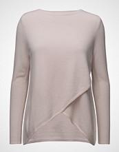 Davida Cashmere Wrap Front Sweater