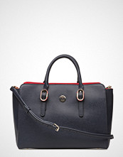 Tommy Hilfiger Th Buckle Satchel