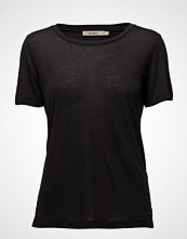 Whyred Vanya T-shirts & Tops Short-sleeved Svart WHYRED