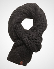Superdry North Cable Scarf Skjerf Svart SUPERDRY