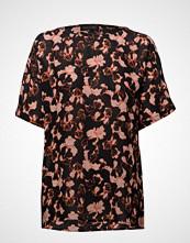 Storm & Marie Iris-Ss T-shirts & Tops Short-sleeved Svart STORM & MARIE