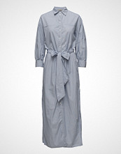 Hunkydory Peyton Shirt Dress Maxikjole Festkjole Blå HUNKYDORY