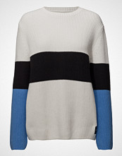 Calvin Klein Color Block Cotton Cashmere Sweater