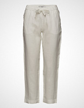 Mango Bow Linen Trousers