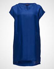 Violeta by Mango Pockets Linen-Blend Dress