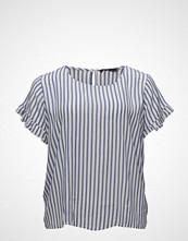 Violeta by Mango Flowy Striped Blouse