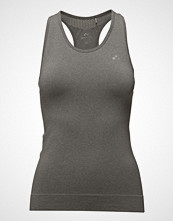 Only Play Onpchristina Seamless Sl Top - Opus T-shirts & Tops Sleeveless Grå ONLY PLAY