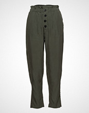 Mango Buttoned Modal Trousers
