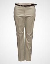 Violeta by Mango Belt Cotton-Blend Trousers