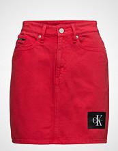 Calvin Klein Mini Skirt-Tango Red