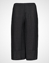 Violeta by Mango Cropped Palazzo Trousers