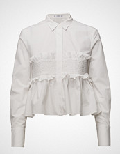 Mango Ruched Detail Shirt