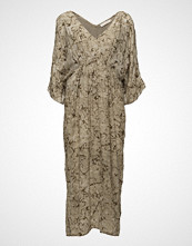 Rabens Saloner Waxed Kaftan Dress