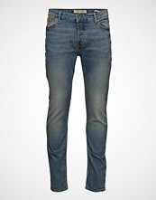 Mango Man Slim-Fit Dark Vintage Wash Tim Jeans